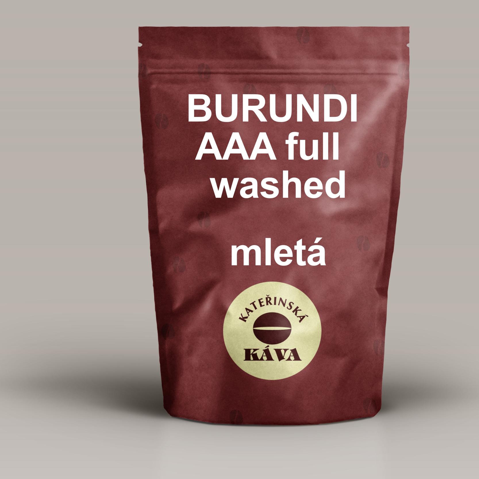 BURUNDI AAA Full Washed -mletá