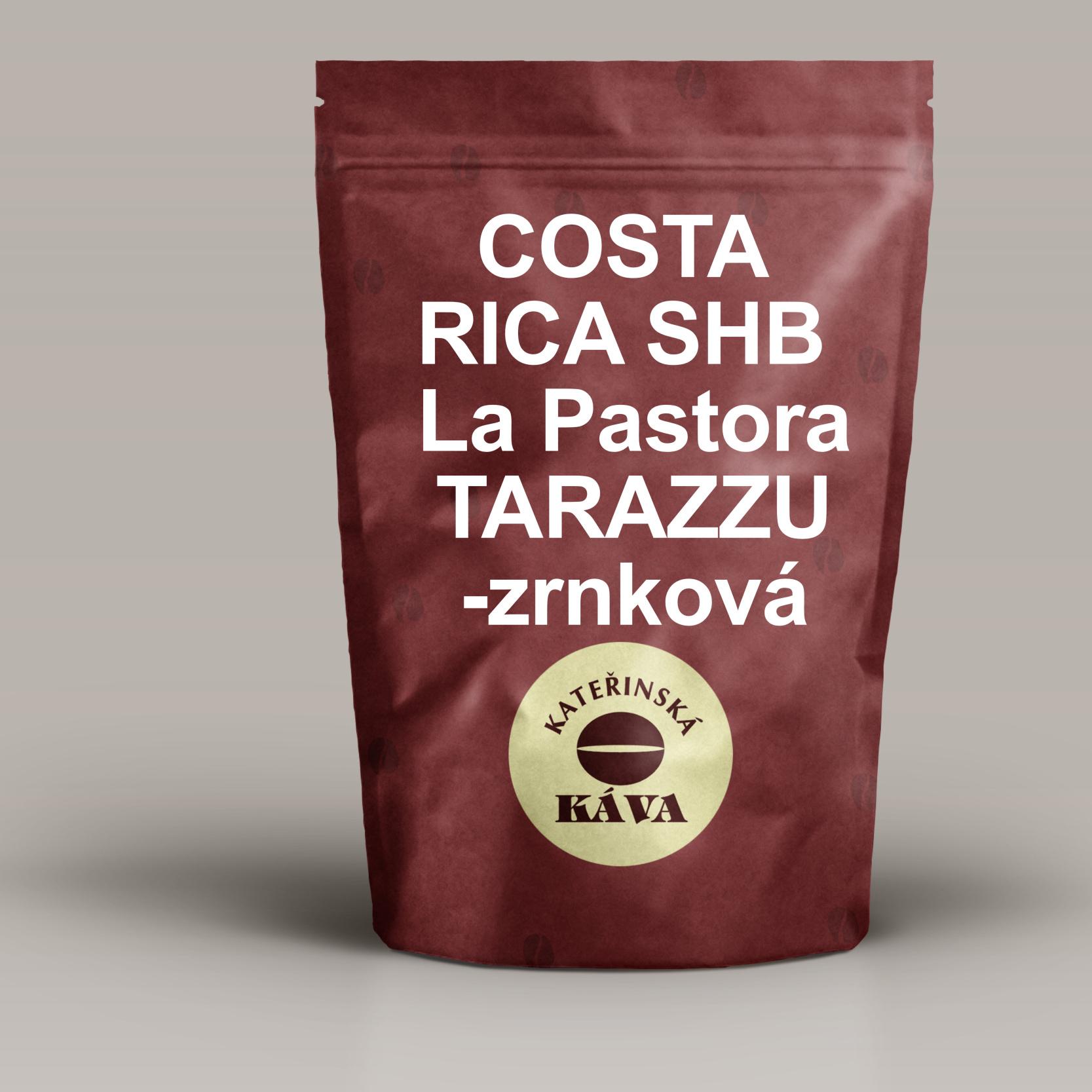 COSTA RICA  SHB La Pastora TARAZZU -zrnková