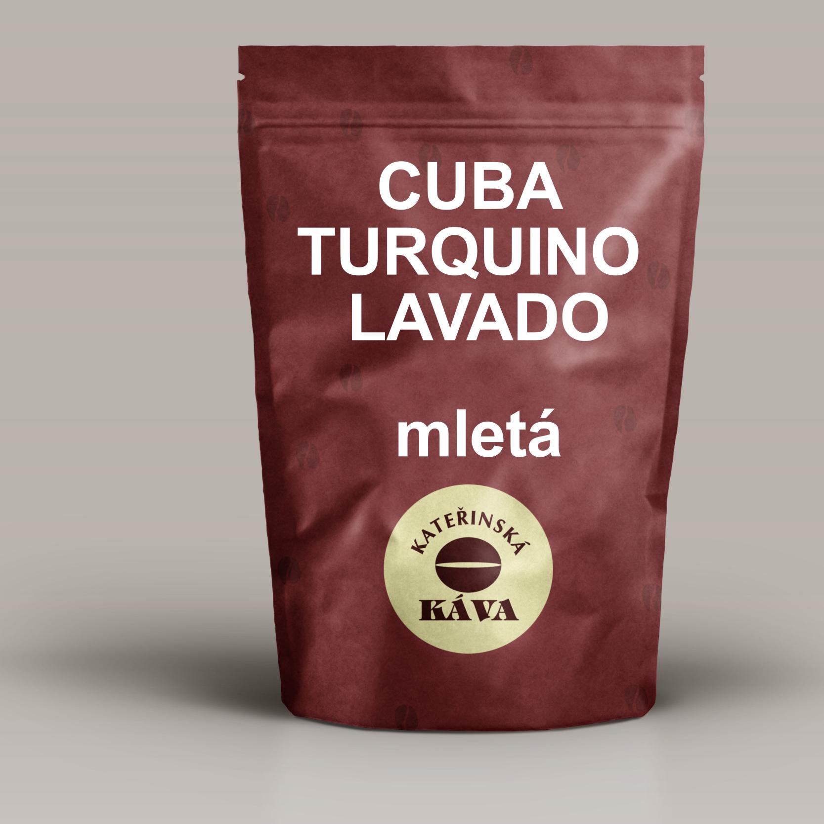 CUBA TURQUINO LAVADO -mletá