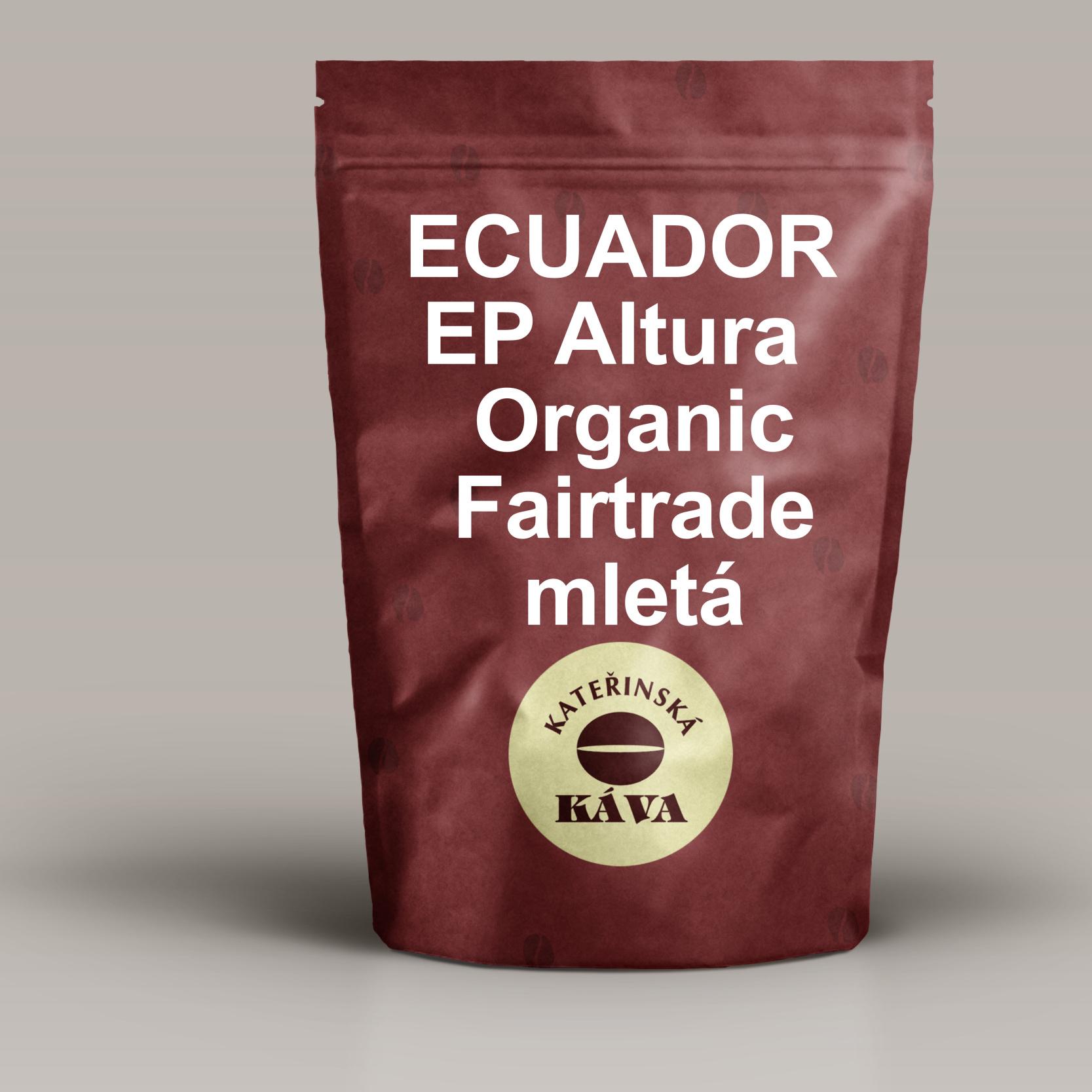 ECUADOR EP Altura Organic Fairtrade – Mletá